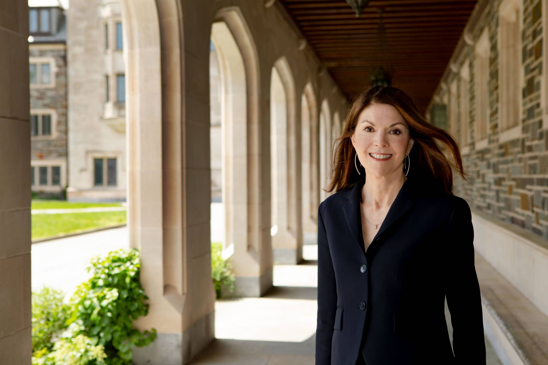 Sandie Bermann, the Cotsen Professor in the Humanities and professor of comparative literature Photo by Denise Applewhite, Office of Communications