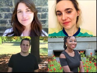 The Princeton-Mellon Initiative in Architecture, Urbanism and the Humanities (PMI) has named Shoshana Goldstein, Sophie Hochhäusl, Adrián Lerner Patrón, and Halimat Somotan as Princeton Mellon Fellows for the 2020-2021 academic year.