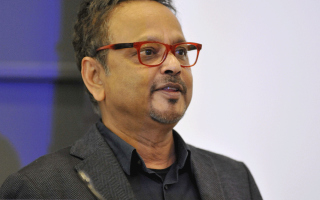 Gyan Prakash, the Dayton-Stockton Professor of History