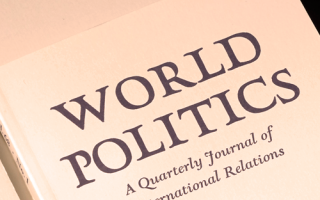 World Politics (Volume 70, Issue 4) is available online.