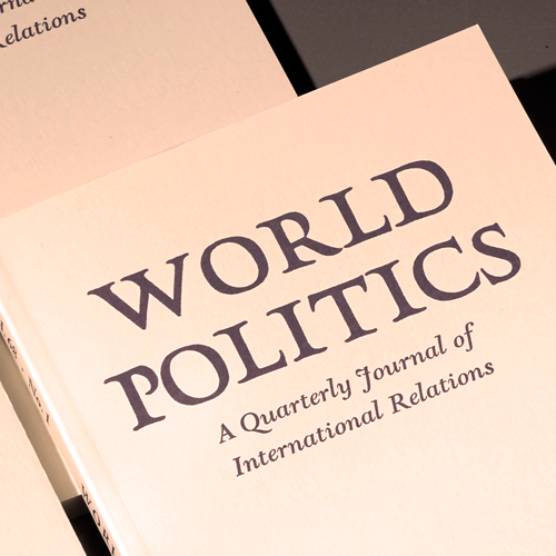 Two members of World Politics' editorial committee are winners of the American Political Science Association's (APSA) annual book awards.