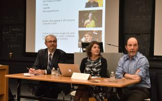 """On Sep. 20, Princeton Institute for International and Regional Studies (PIIRS) and the Brazil LAB (Luso-Afro-Brazilian Studies) hosted its inaugural colloquium, """"The Future of Brazil: Economy and Society on the Eve of the 2018 Presidential Election.""""  Photo by Mark Czajkowski"""