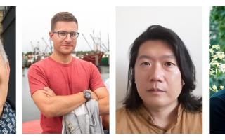 The Program in Translation and Intercultural Communication (PTIC) has named Neil Blackadder, Sean Bye, Jeremy Tiang and Saskia Vogel as Princeton University's translators in residence. Each of the four translators will be joining the Princeton community for one semester over the course of 2021-2023.